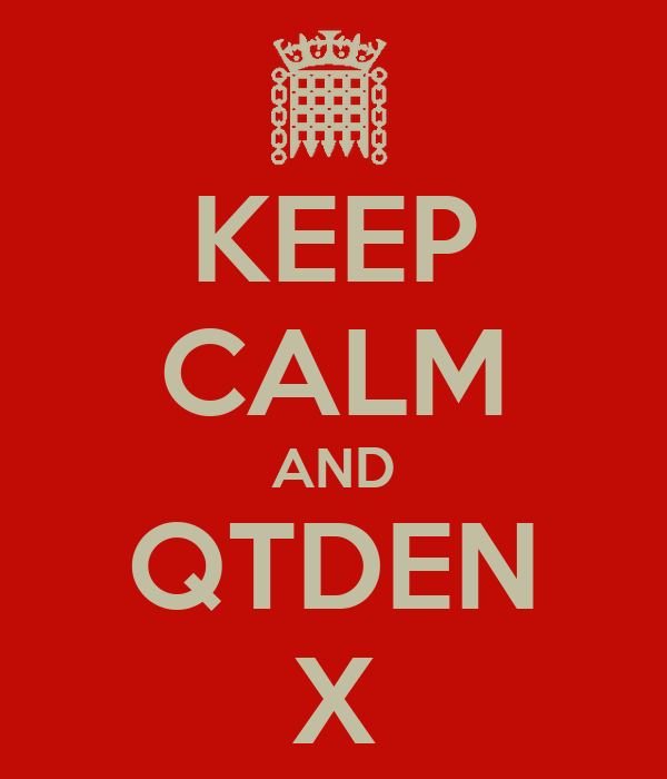 KEEP CALM AND QTDEN X