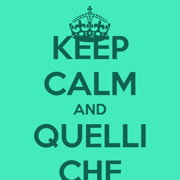 KEEP CALM AND QUELLI CHE
