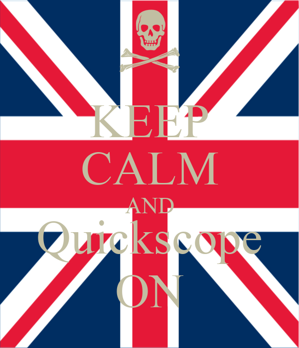 KEEP CALM AND Quickscope ON