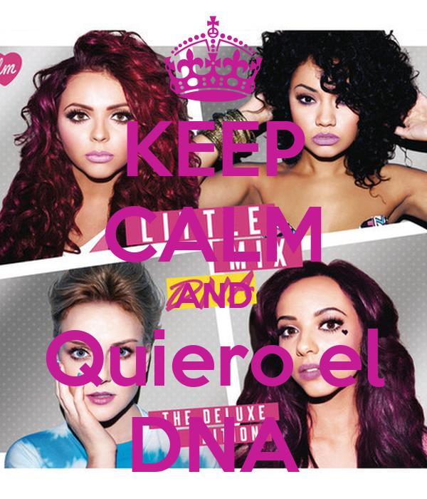 KEEP CALM AND Quiero el DNA