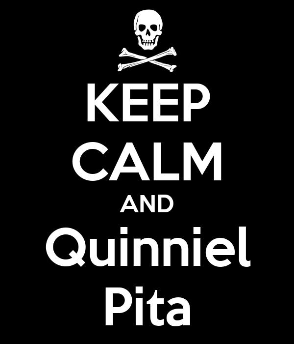 KEEP CALM AND Quinniel Pita