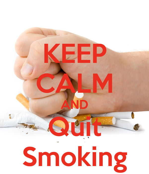 KEEP CALM AND Quit Smoking