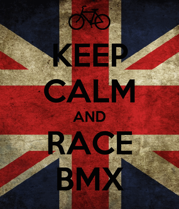 KEEP CALM AND RACE BMX
