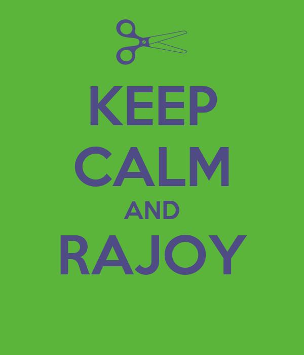 KEEP CALM AND RAJOY