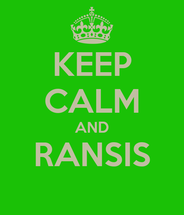 KEEP CALM AND RANSIS
