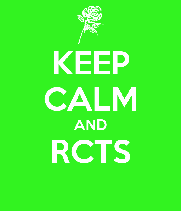 KEEP CALM AND RCTS