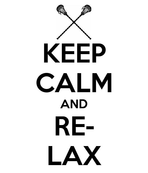 KEEP CALM AND RE- LAX