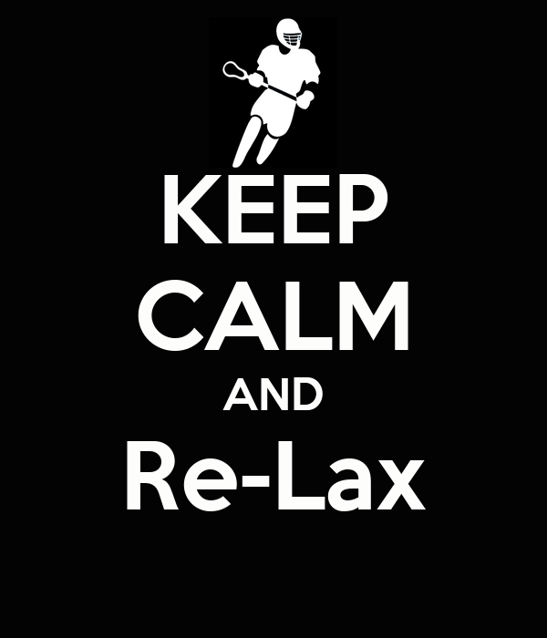 KEEP CALM AND Re-Lax