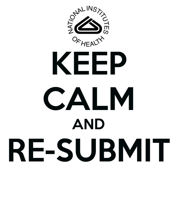 KEEP CALM AND RE-SUBMIT