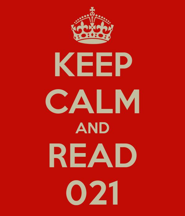 KEEP CALM AND READ 021