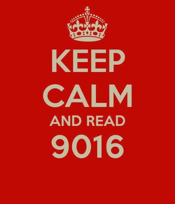 KEEP CALM AND READ 9016