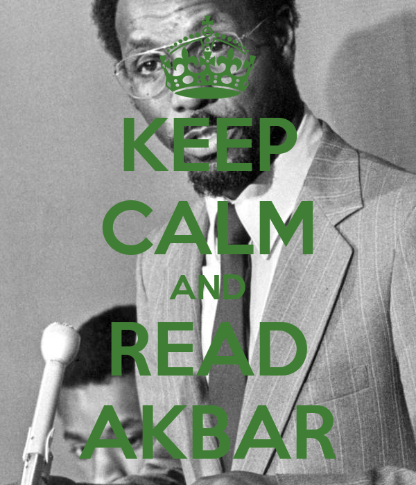 KEEP CALM AND READ AKBAR
