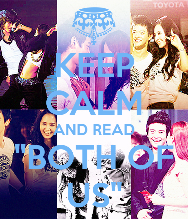 """KEEP CALM AND READ """"BOTH OF US"""""""