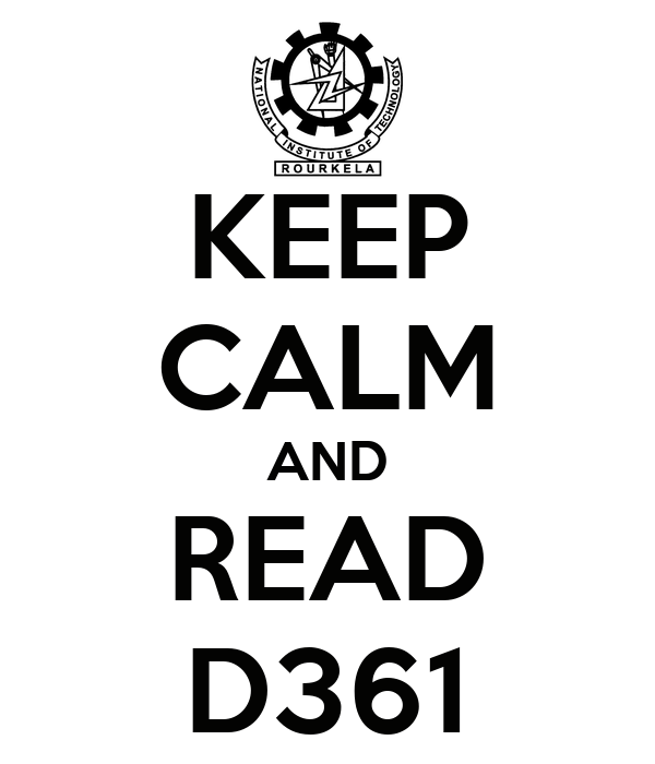 KEEP CALM AND READ D361
