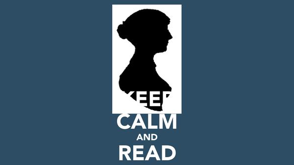 KEEP CALM AND READ JANE