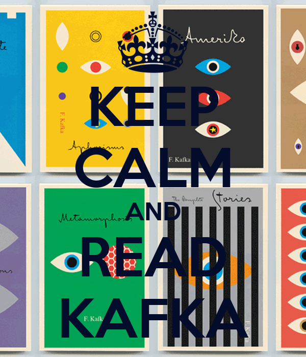 KEEP CALM AND READ KAFKA