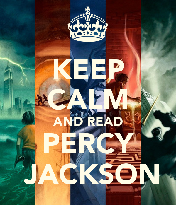 KEEP CALM AND READ PERCY  JACKSON