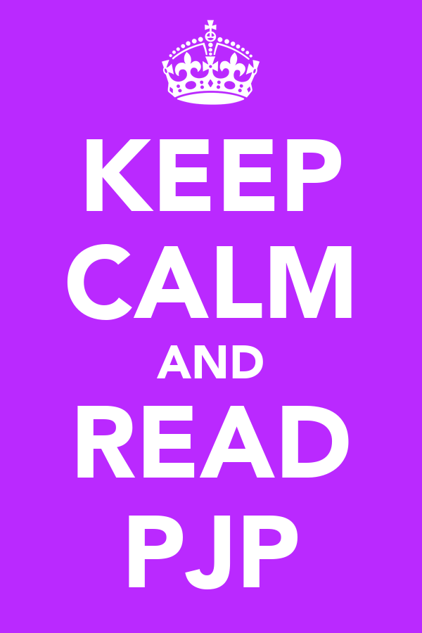 KEEP CALM AND READ PJP