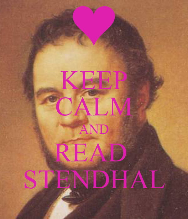 KEEP CALM AND READ  STENDHAL