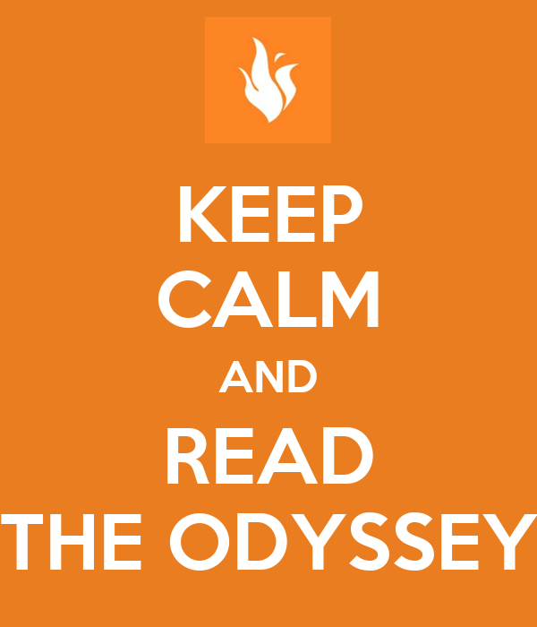 how to read the odyssey