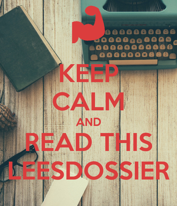 KEEP CALM AND READ THIS LEESDOSSIER Poster | Djurre | Keep