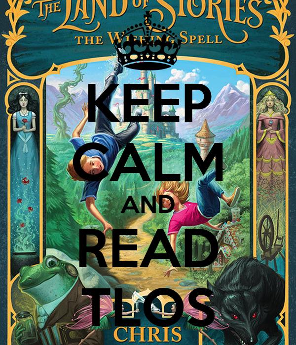 KEEP CALM AND READ TLOS