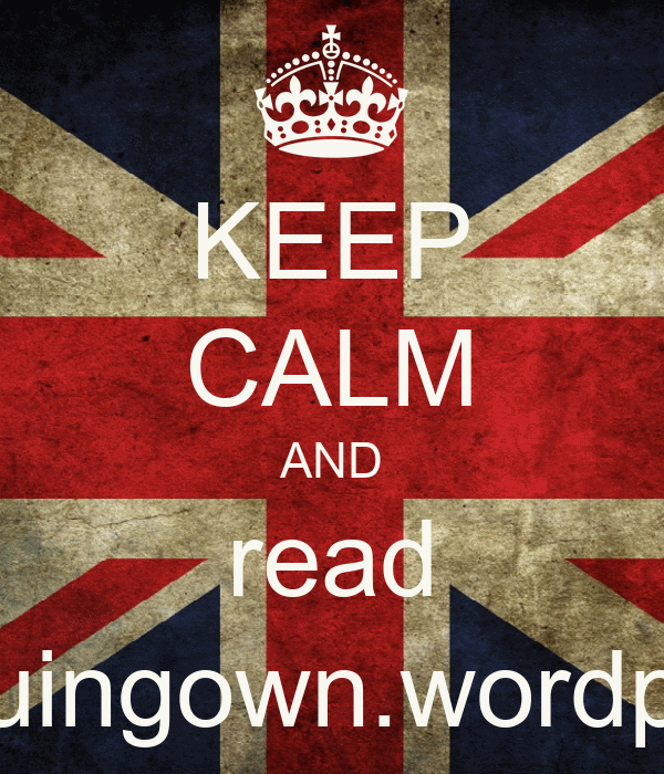 KEEP CALM AND read www.sequingown.wordpress.com