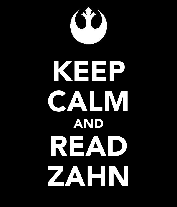 KEEP CALM AND READ ZAHN