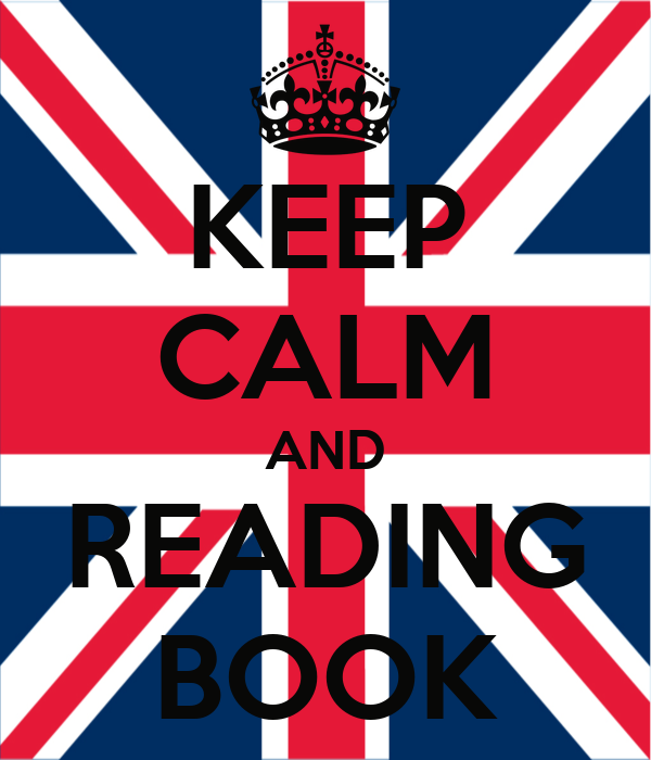 KEEP CALM AND READING BOOK