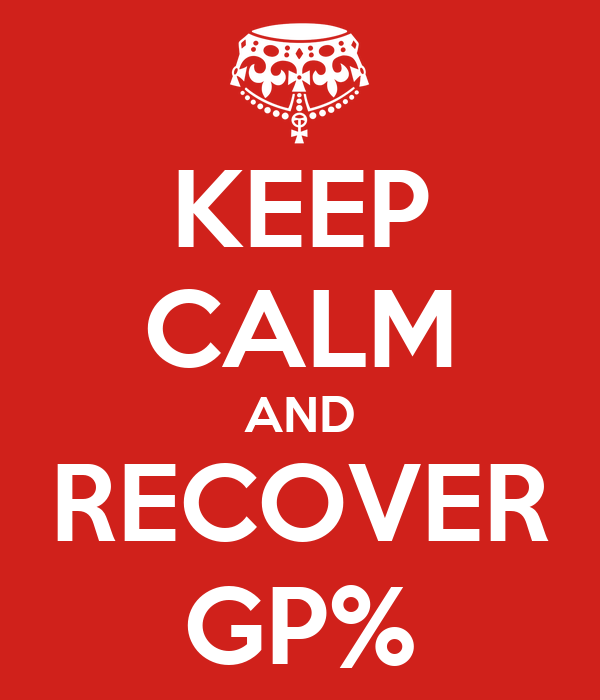 KEEP CALM AND RECOVER GP%