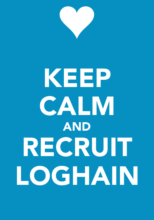 KEEP CALM AND RECRUIT LOGHAIN