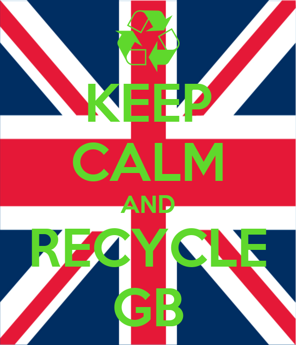 KEEP CALM AND RECYCLE GB