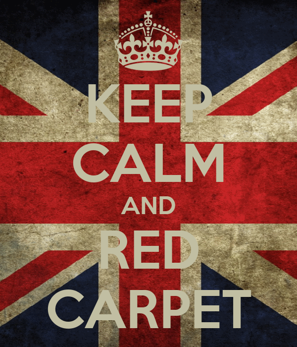 KEEP CALM AND RED CARPET