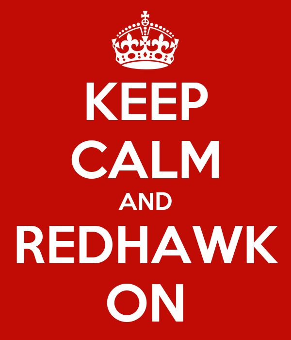 KEEP CALM AND REDHAWK ON