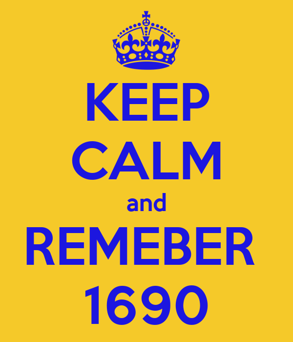KEEP CALM and REMEBER  1690
