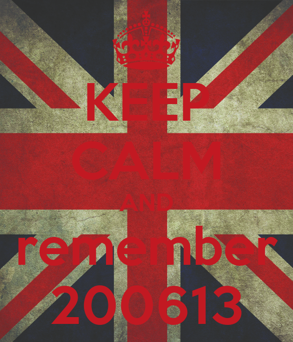 KEEP CALM AND remember 200613