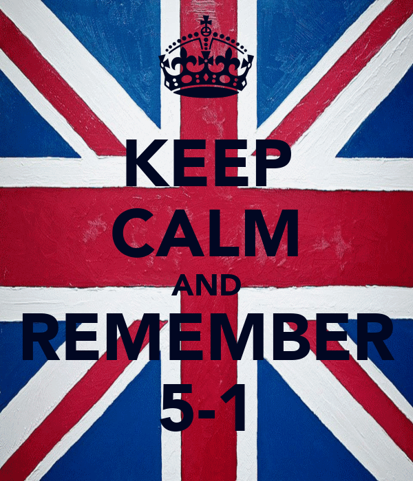KEEP CALM AND REMEMBER 5-1