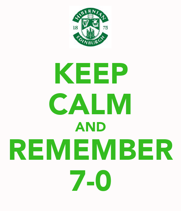 KEEP CALM AND REMEMBER 7-0