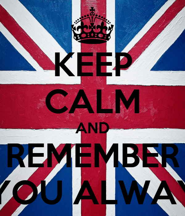 KEEP CALM AND REMEMBER THAT YOU ALWAYS WIN