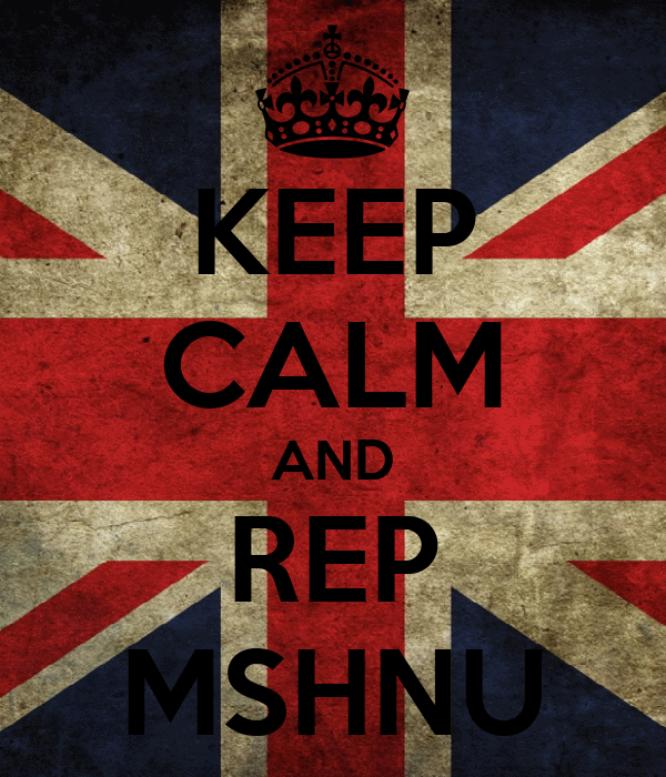 KEEP CALM AND REP MSHNU