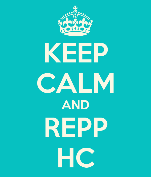 KEEP CALM AND REPP HC