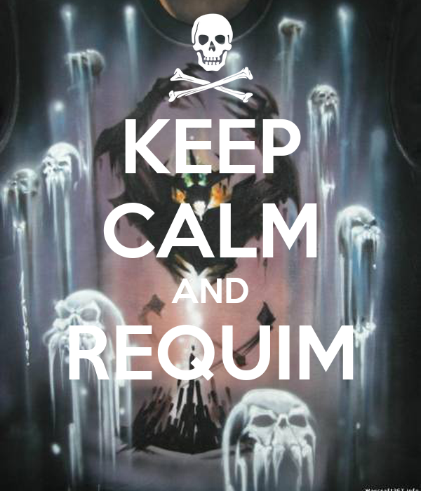 KEEP CALM AND REQUIM