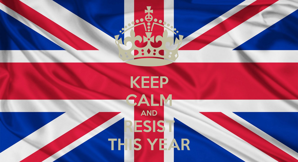 KEEP CALM AND RESIST THIS YEAR