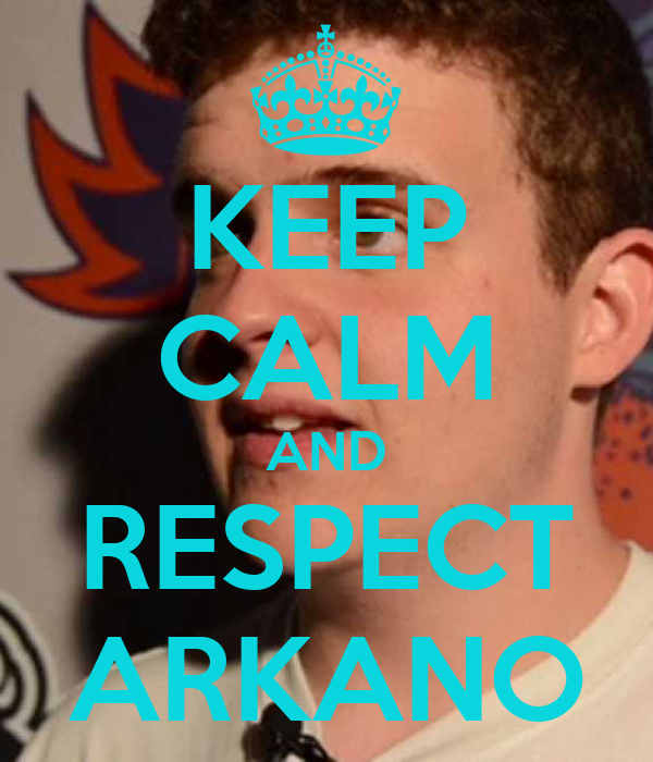 KEEP CALM AND RESPECT ARKANO