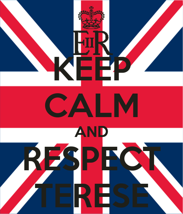 KEEP CALM AND RESPECT TERESE