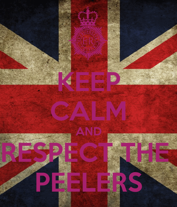 KEEP CALM AND RESPECT THE  PEELERS