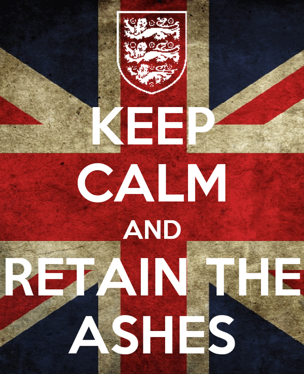 KEEP CALM AND RETAIN THE ASHES