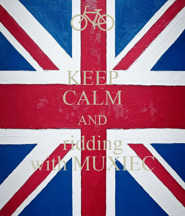 KEEP CALM AND ridding with MUXIEC