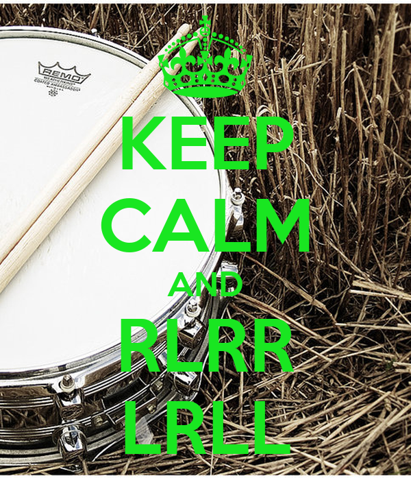 KEEP CALM AND RLRR LRLL