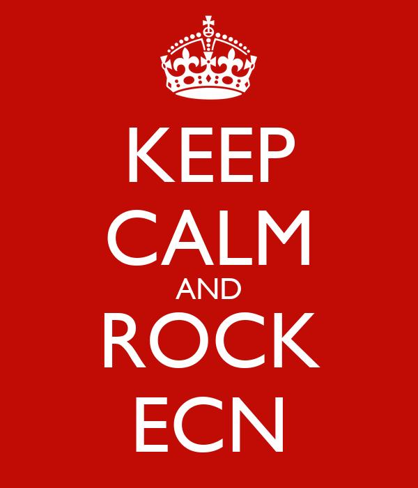 KEEP CALM AND ROCK ECN